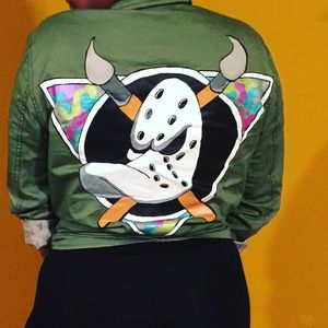 Jackets & Blazers - Hand Painted Jackets by me! Whatever you want!